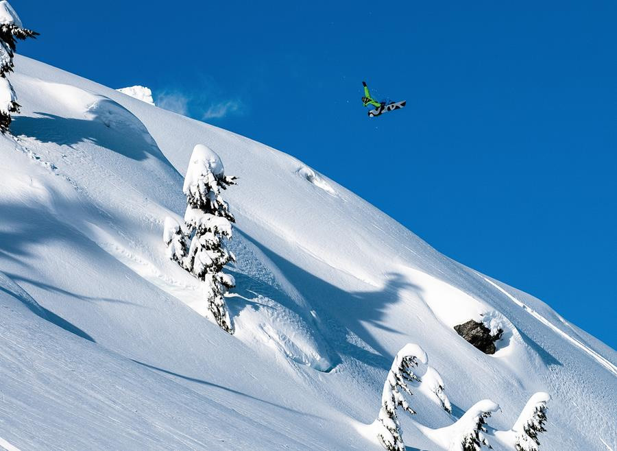 Ride with Snowboarding Icon DCP at Bella Coola Heli Sports